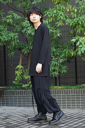 Yohji Yamamoto 19SS In motion Style