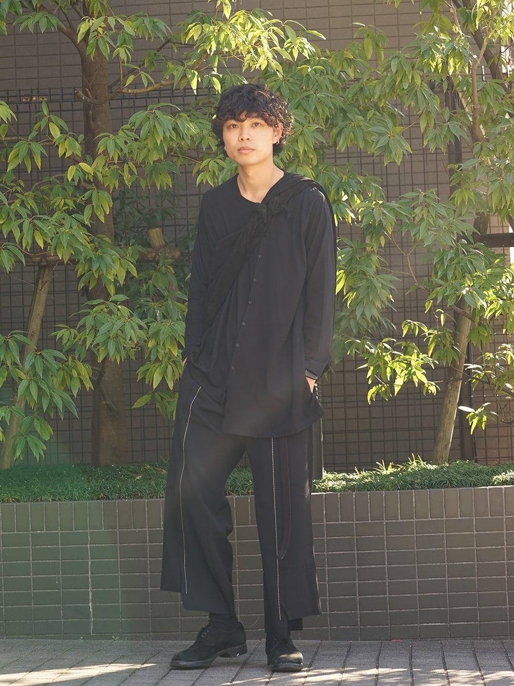 Yohji Yamamoto x B YY 19SS Simple Style 01