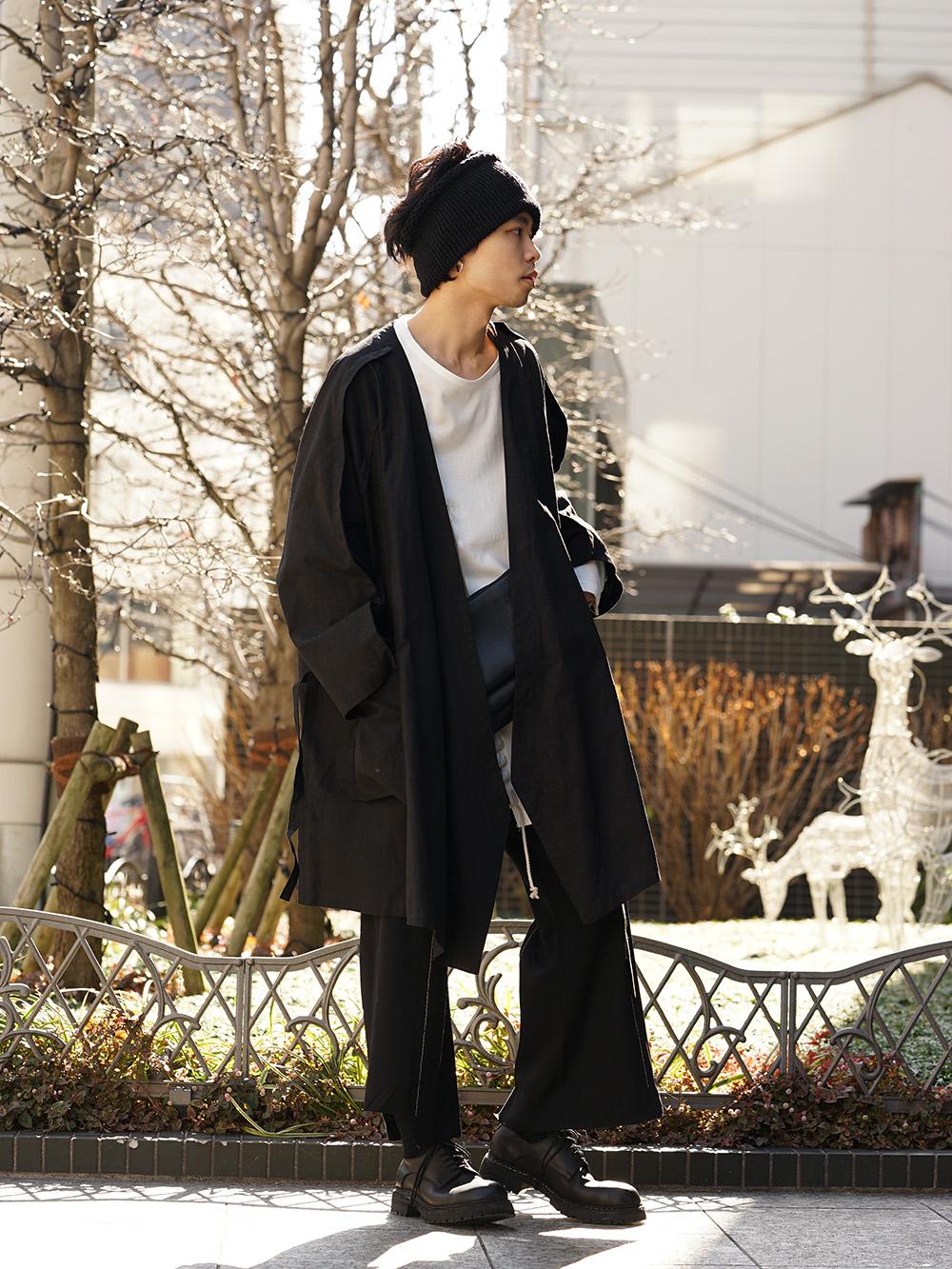 B Yohji Yamamoto 19SS Seam allowance look Cape Style