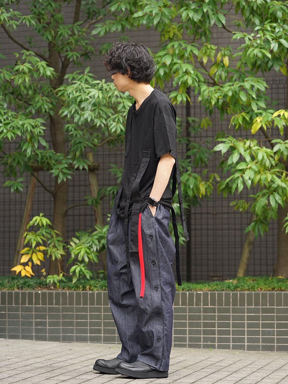 B Yohji Yamamoto 19SS Hang loop stop T-shirts Style 02