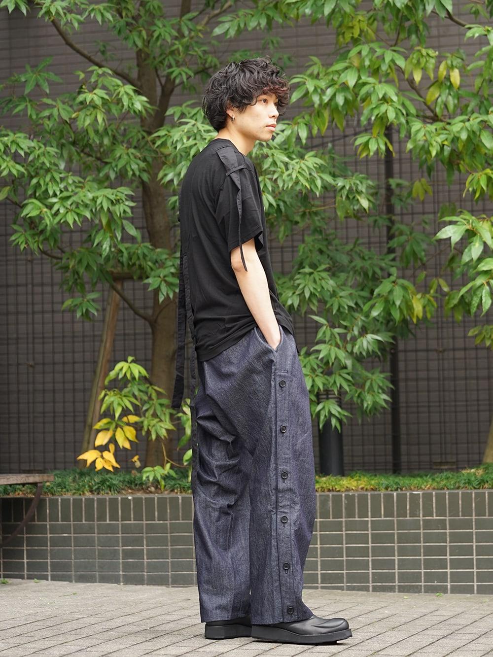 B Yohji Yamamoto 19SS Hang loop stop T-shirts Style 03
