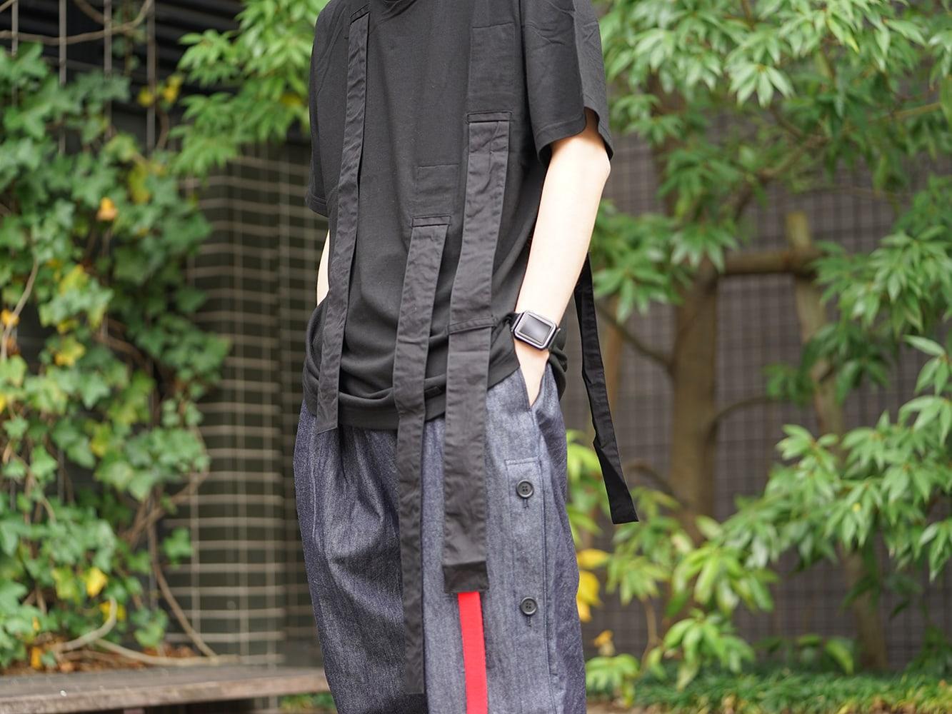 B Yohji Yamamoto 19SS Hang loop stop T-shirts Style 05