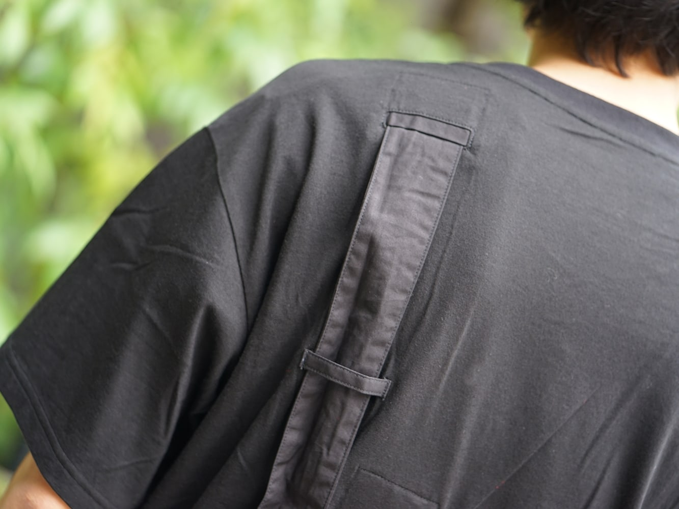 B Yohji Yamamoto 19SS Hang loop stop T-shirts Style 08