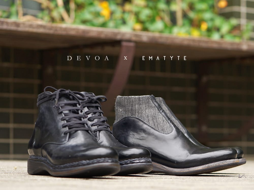 DEVOA 19SS EMATYTE Collaboration Shoes New Arrival
