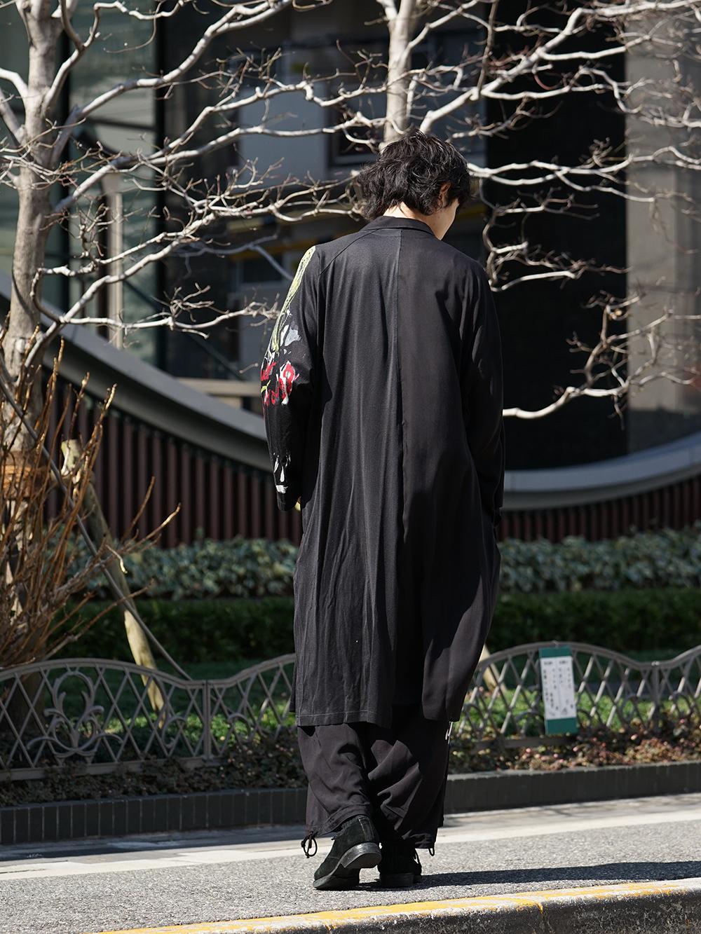 B Yohji Yamamoto 19SS BLACK SCANDAL Print Item Style-004