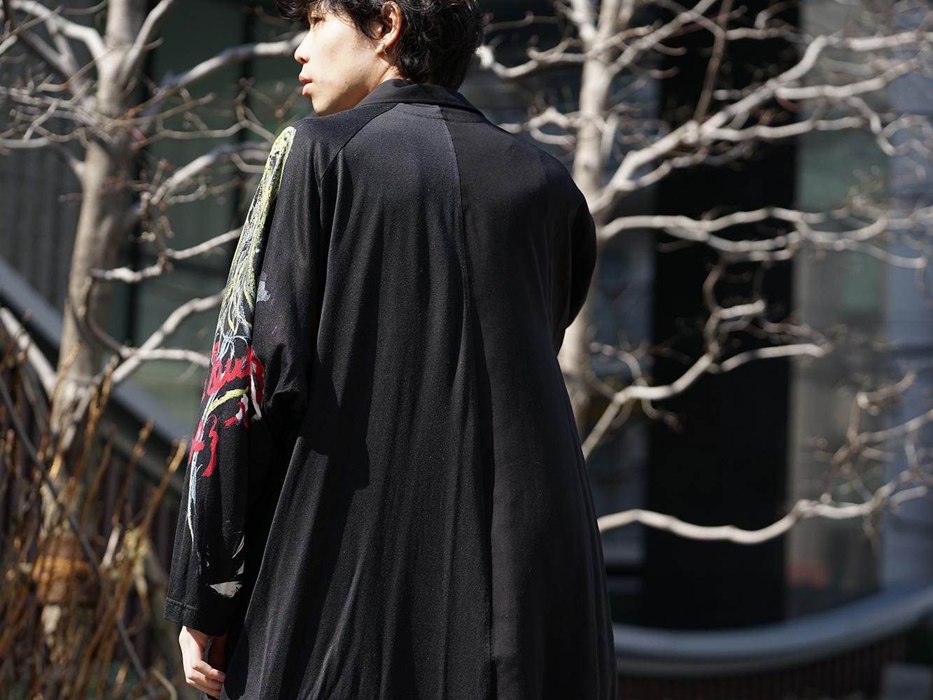 B Yohji Yamamoto 19SS BLACK SCANDAL Print Item Style-007