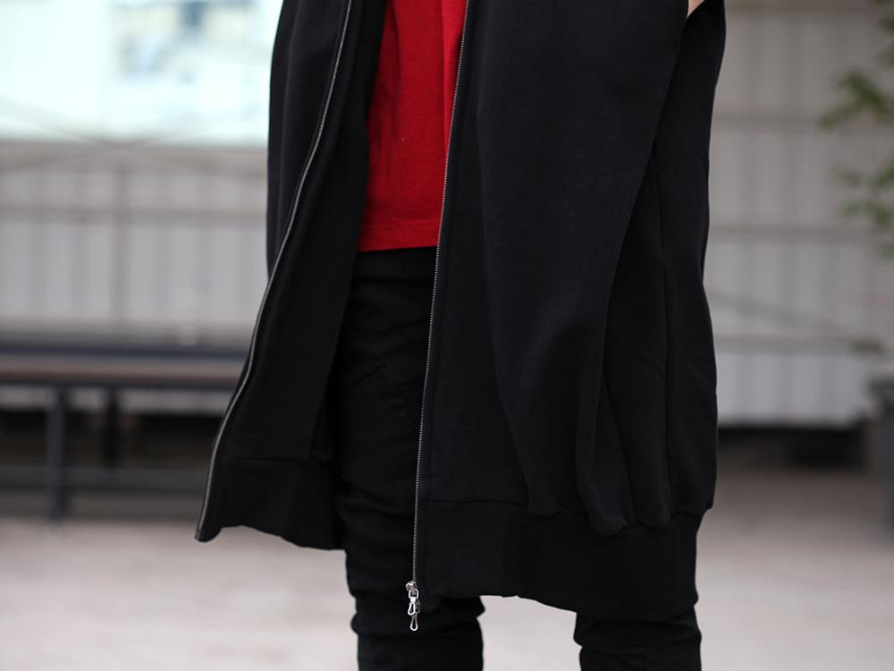 JULIUS 19SS Print Extra Big zip hoodie Style - 2-002