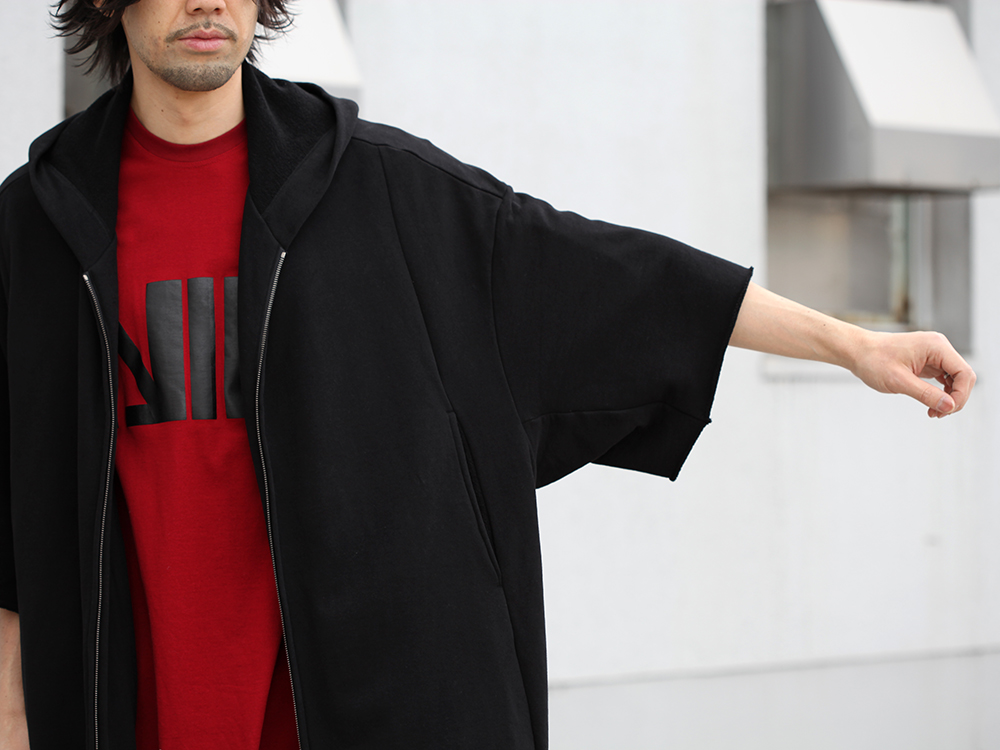 JULIUS 19SS Print Extra Big zip hoodie Style - 2-003