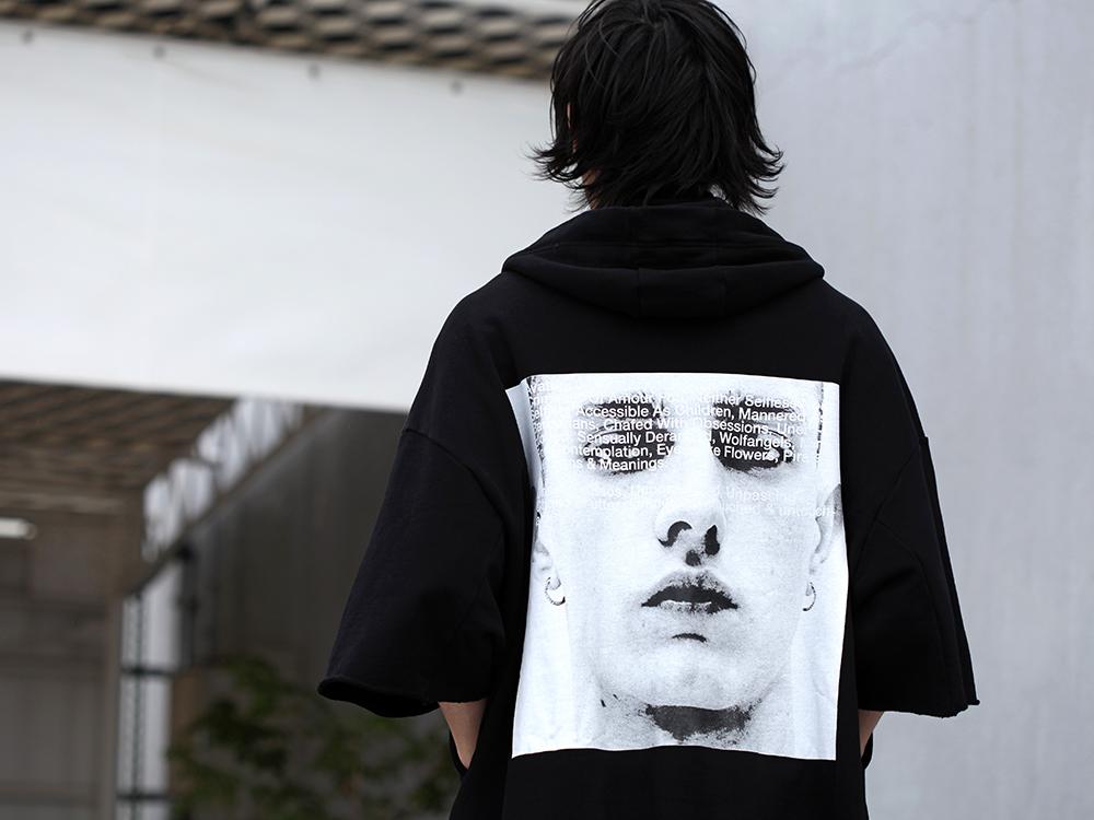JULIUS 19SS Print Extra Big zip hoodie Style - 2-004