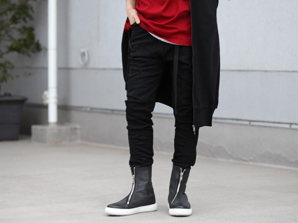 JULIUS 19SS Print Extra Big zip hoodie Style - 3-001