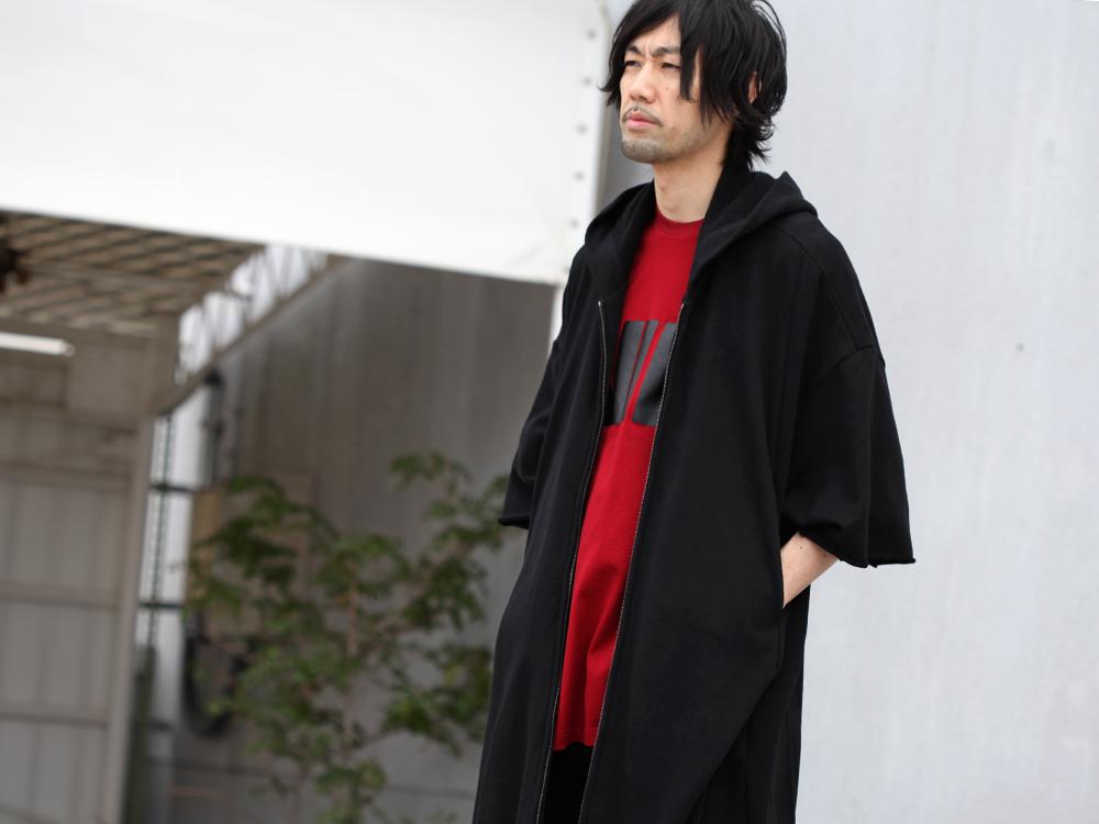 JULIUS 19SS Print Extra Big zip hoodie Style - 4-001
