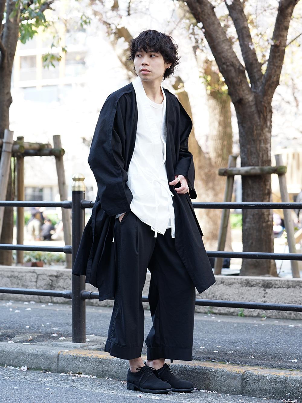 ZIGGY CHEN x B Yohji Yamamoto Japonism Style - 1-001