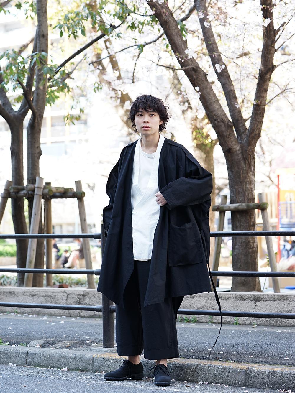 ZIGGY CHEN x B Yohji Yamamoto Japonism Style - 4-002