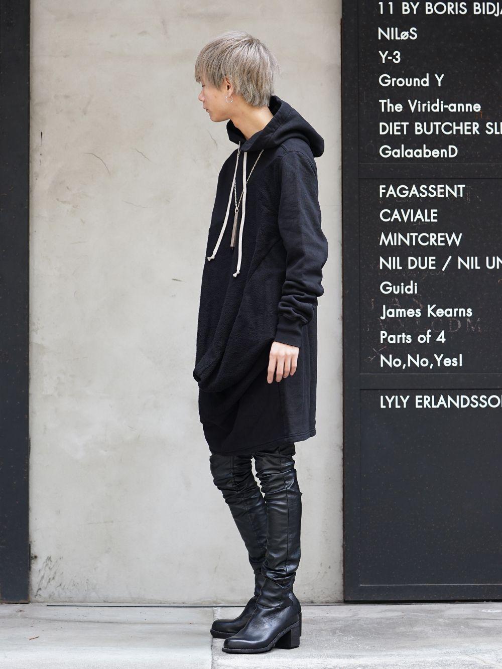 DRKSHDW x FAGASSENT 19SS Black elegant Style - 1-002