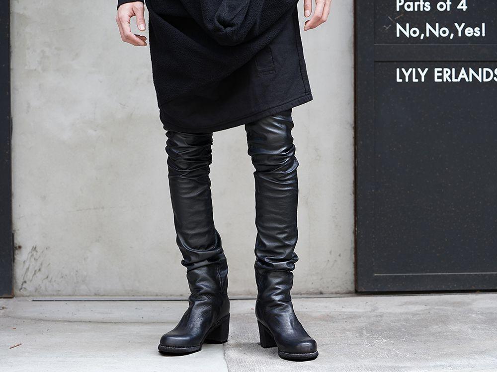 DRKSHDW x FAGASSENT 19SS Black elegant Style - 3-001