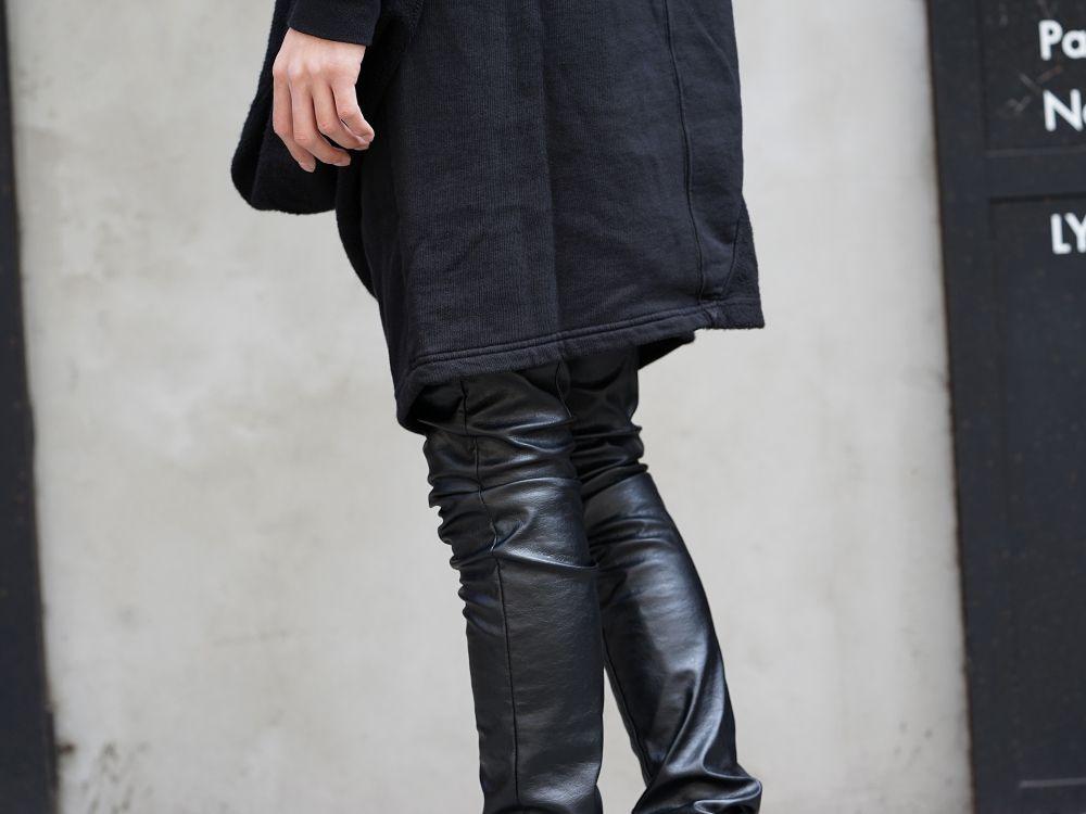 DRKSHDW x FAGASSENT 19SS Black elegant Style - 3-002