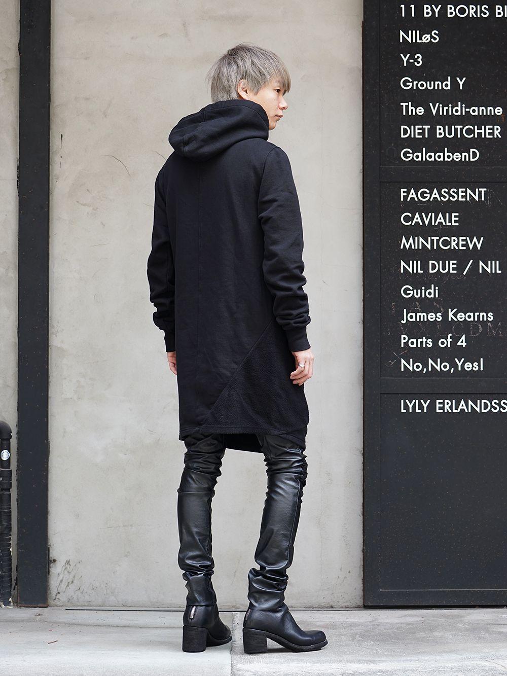 DRKSHDW x FAGASSENT 19SS Black elegant Style - 4-002
