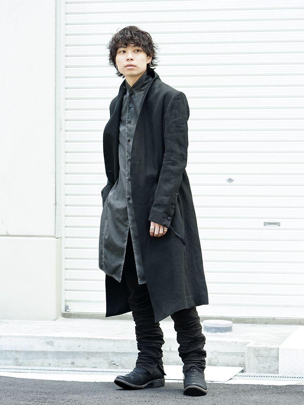 D.hygen[SADDAM TEISSY] 19SS cool black style - 1-001