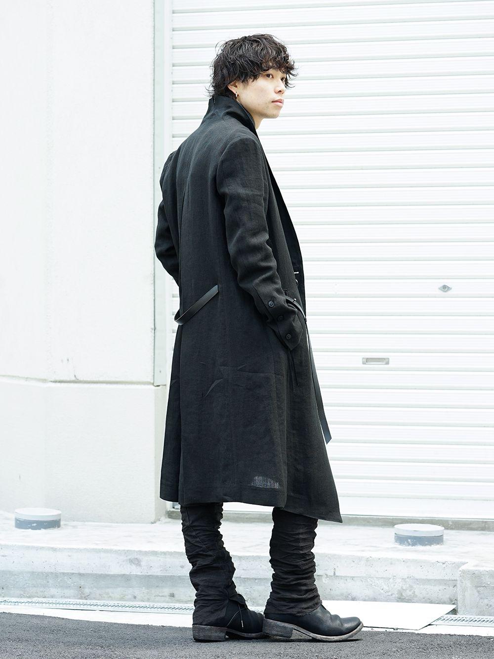 D.hygen[SADDAM TEISSY] 19SS cool black style - 4-003