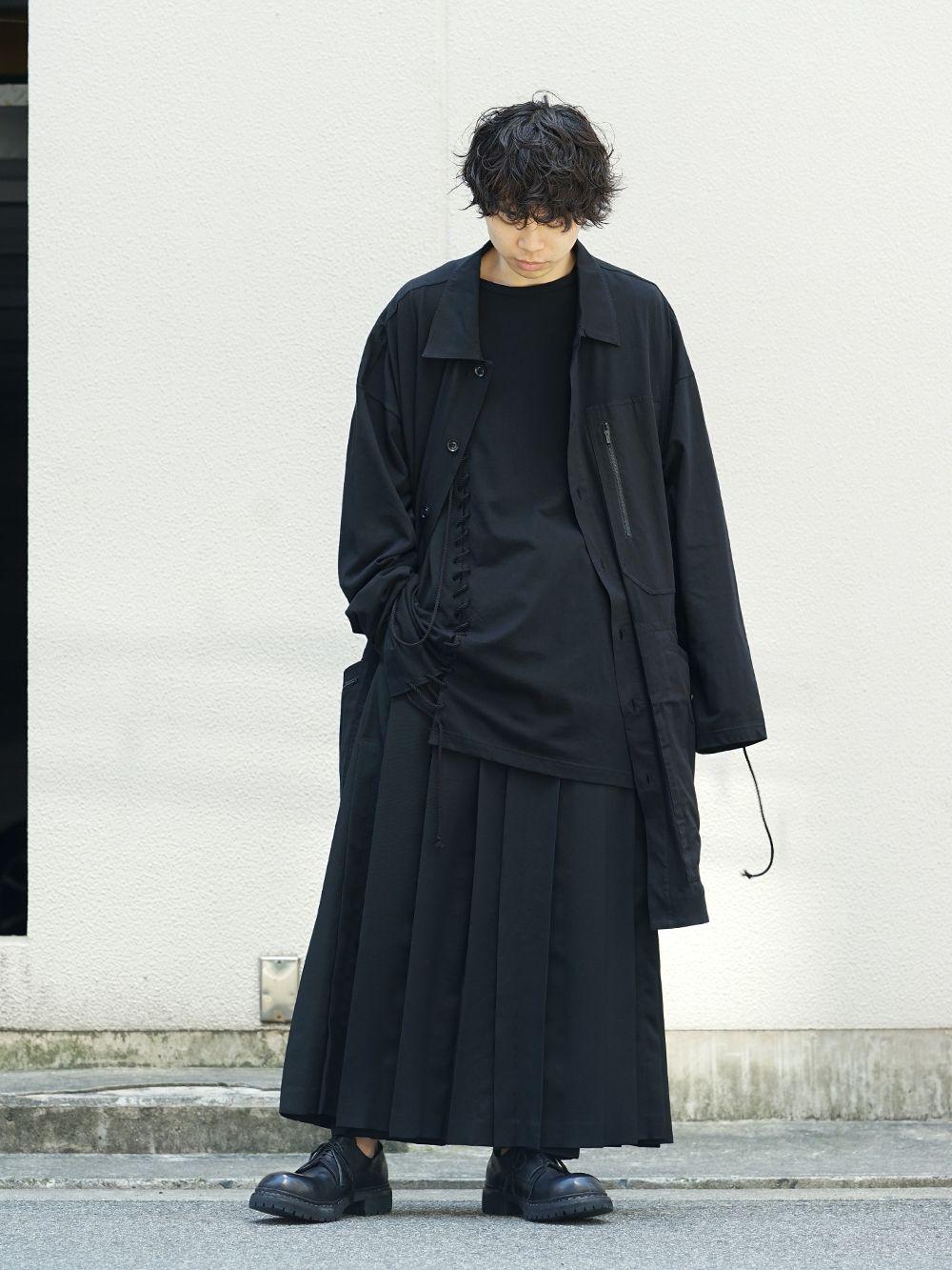 Yohji Yamamoto x B YY All Black Style - 1-001