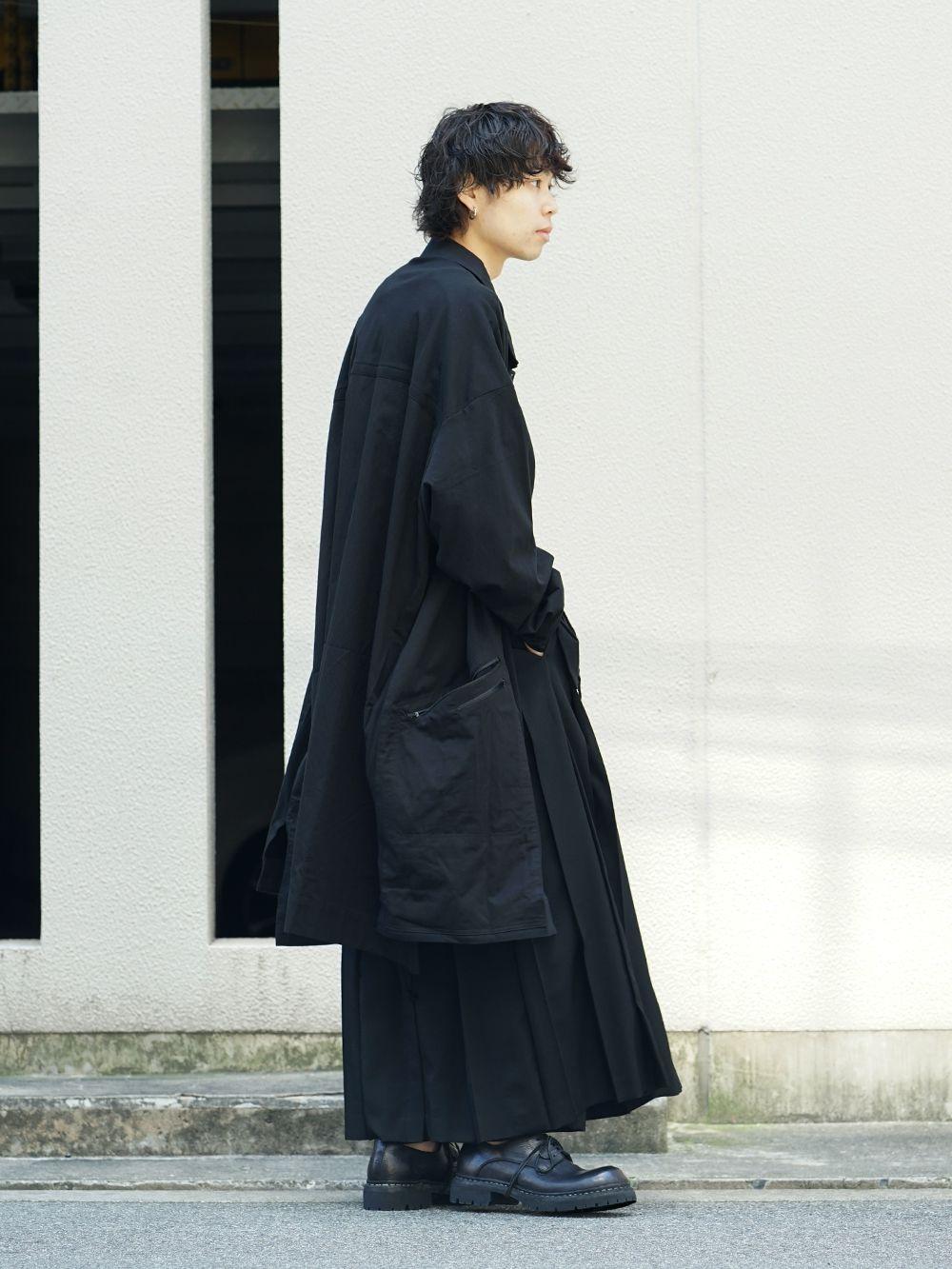 Yohji Yamamoto x B YY All Black Style - 1-002