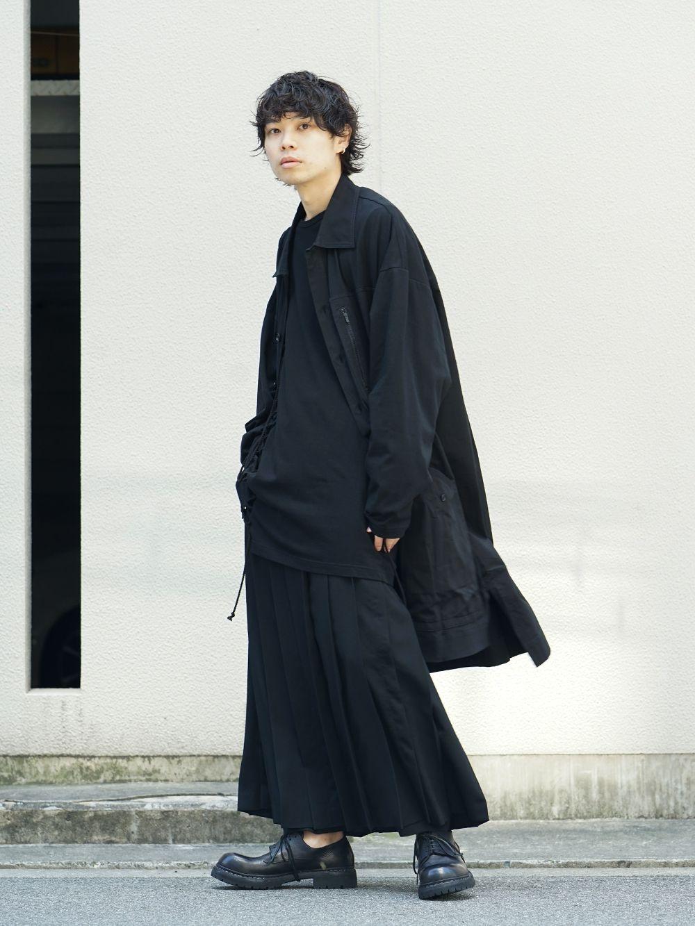 Yohji Yamamoto x B YY All Black Style - 1-004