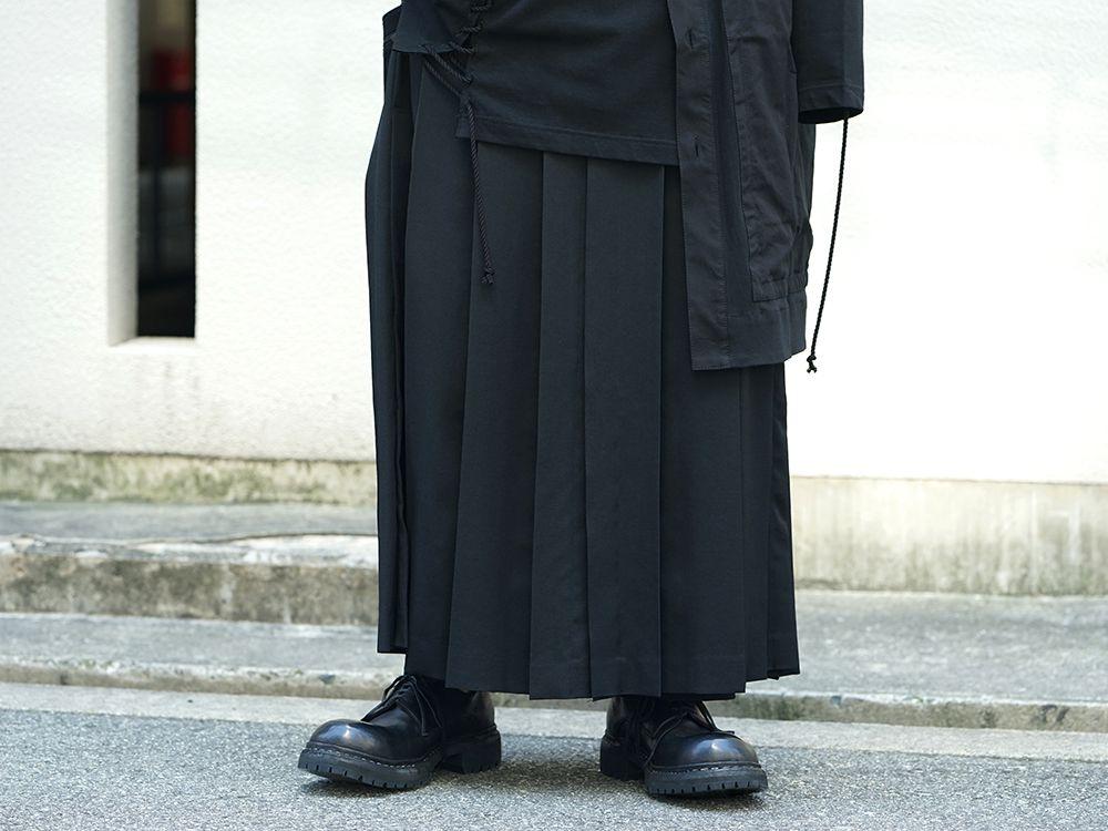 Yohji Yamamoto x B YY All Black Style - 3-001