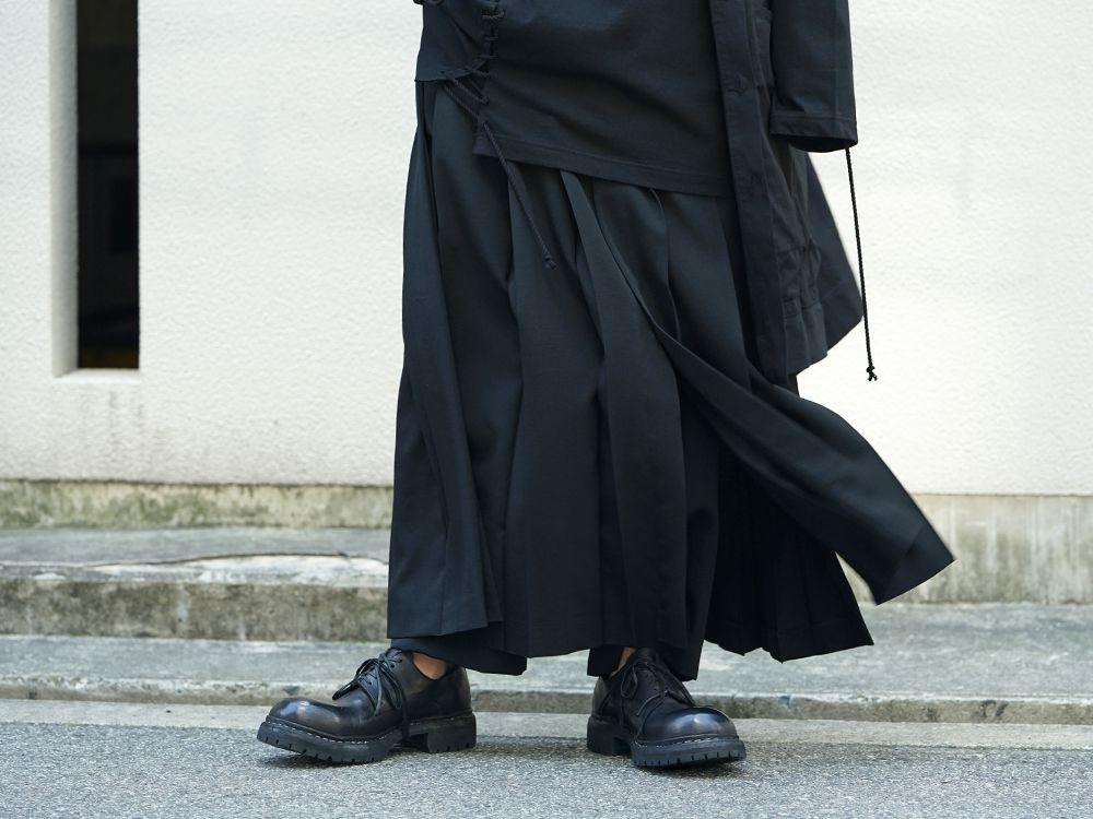 Yohji Yamamoto x B YY All Black Style - 3-002