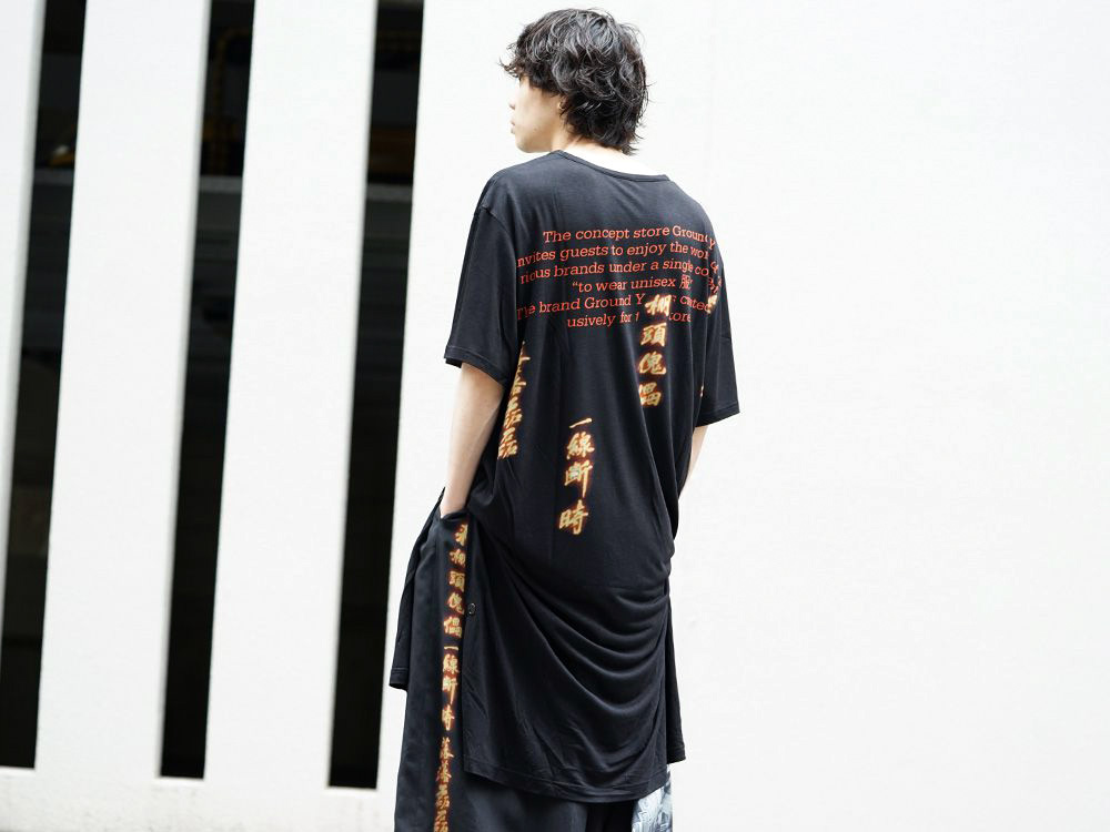 Ground Y × INNOCENCE collaboration item NEW ARRIVALS!! - 2-005