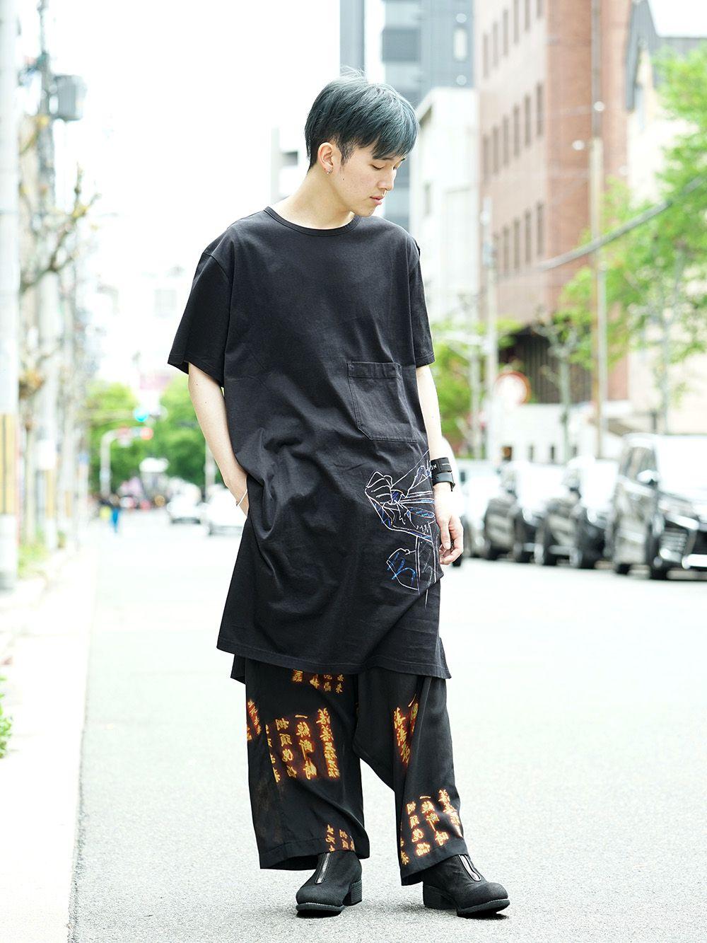 Ground Y x INNOCENCE Cut sewn & Sarouel pants Style - 1-001