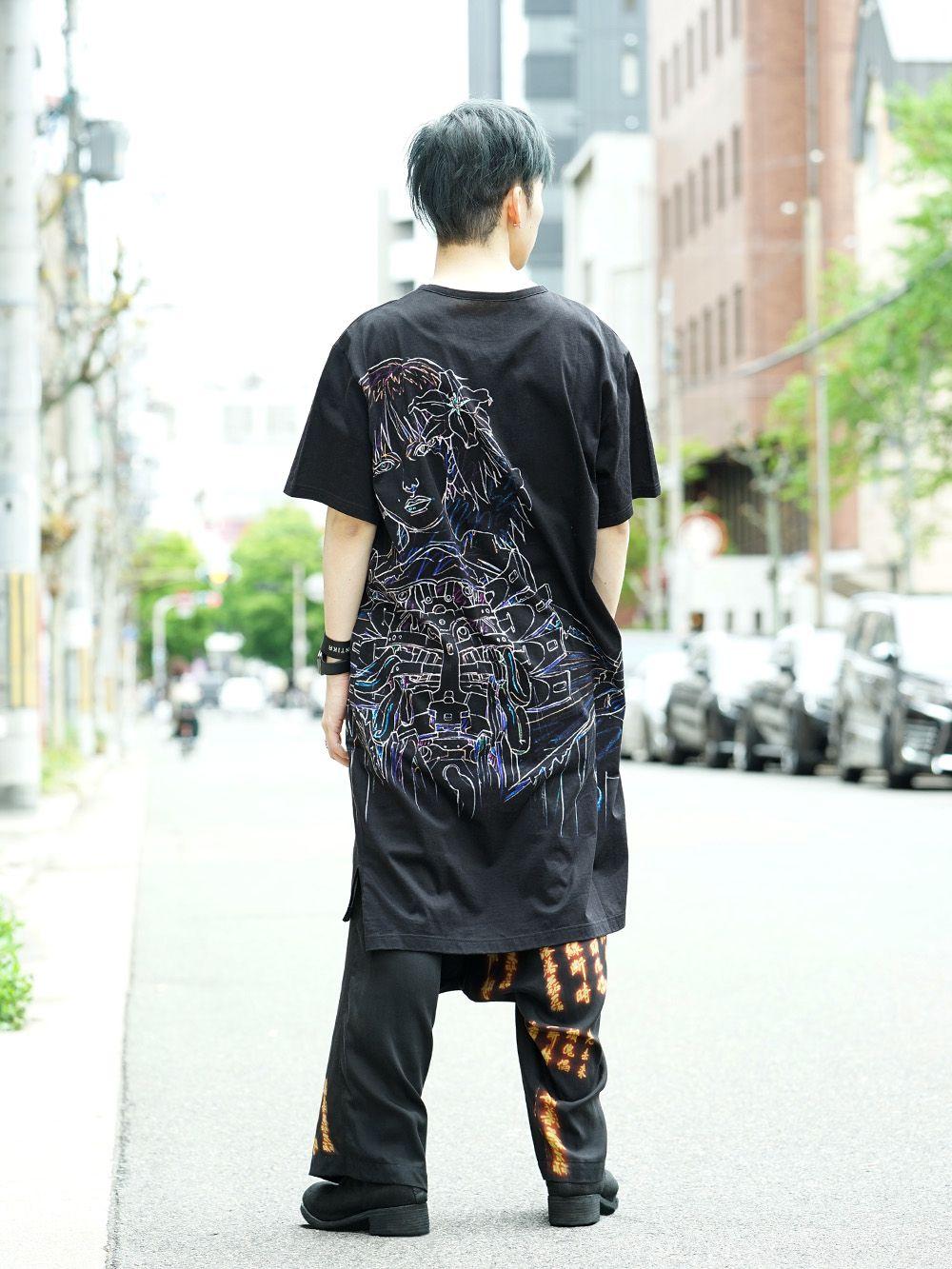 Ground Y x INNOCENCE Cut sewn & Sarouel pants Style - 1-003