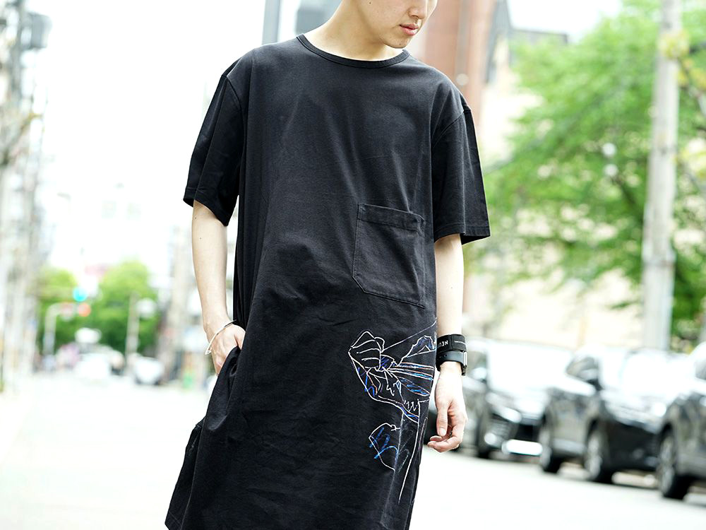 Ground Y x INNOCENCE Cut sewn & Sarouel pants Style - 2-003