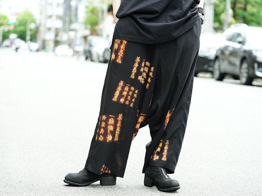 Ground Y x INNOCENCE Cut sewn & Sarouel pants Style - 3-002