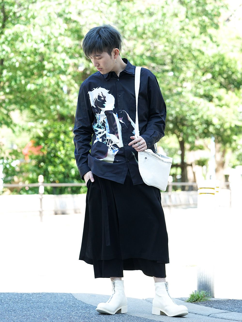 GroundY × INNOCENCE Android shirt style - 1-001