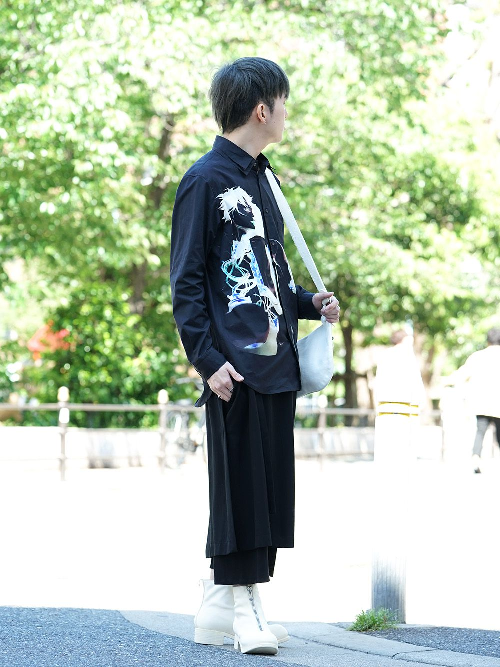 GroundY × INNOCENCE Android shirt style - 1-002