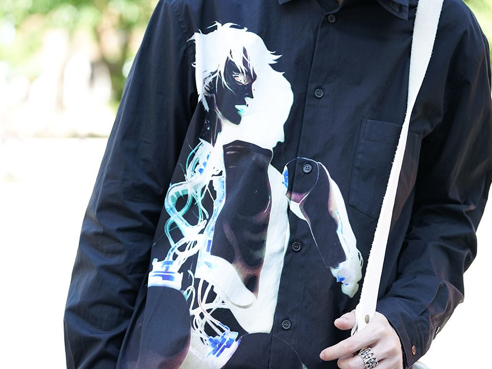 GroundY × INNOCENCE Android shirt style - 2-003