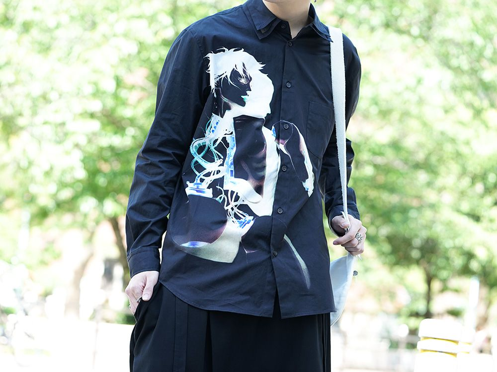 GroundY × INNOCENCE Android shirt style - 2-004