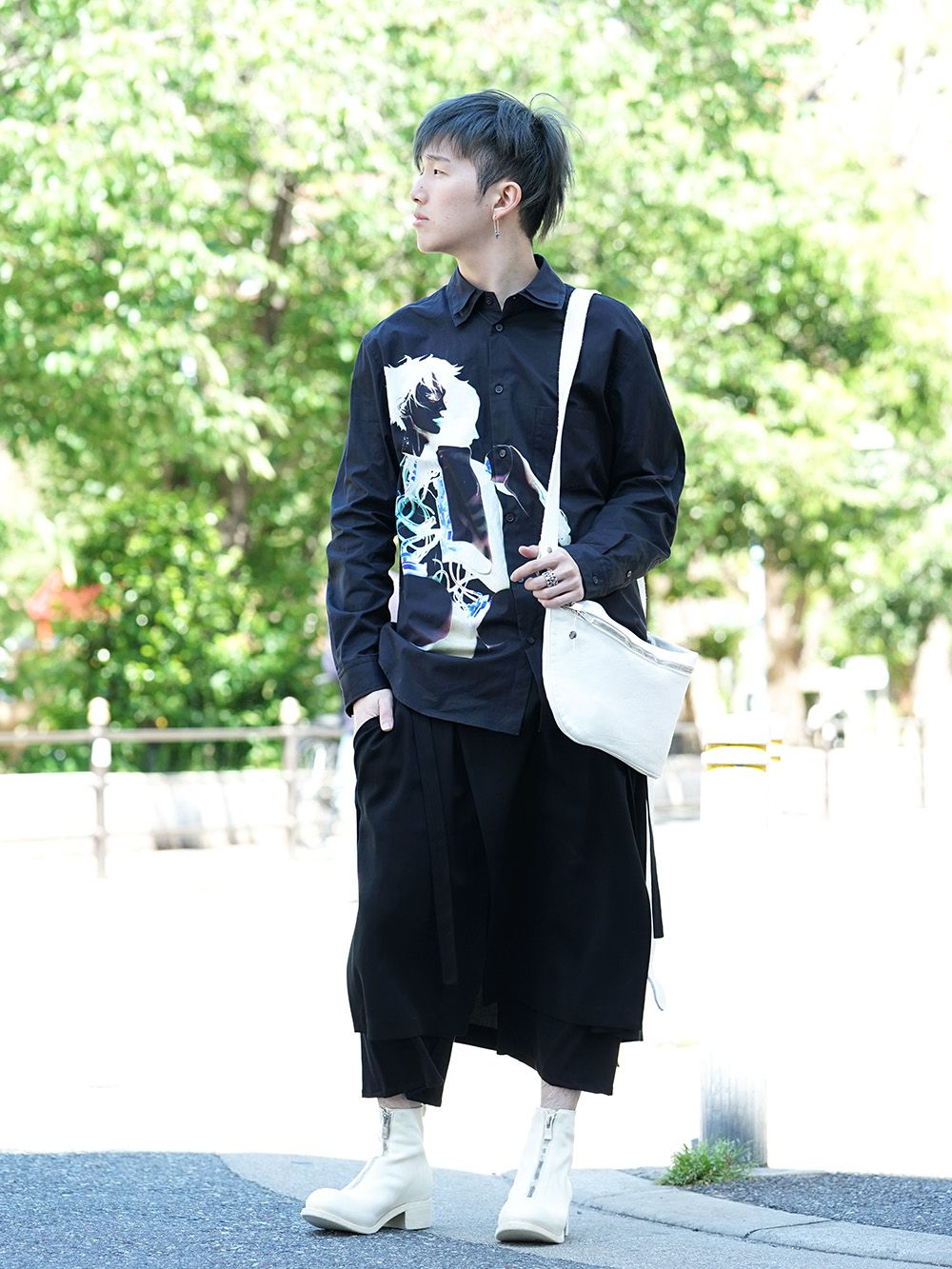 GroundY × INNOCENCE Android shirt style - 4-001