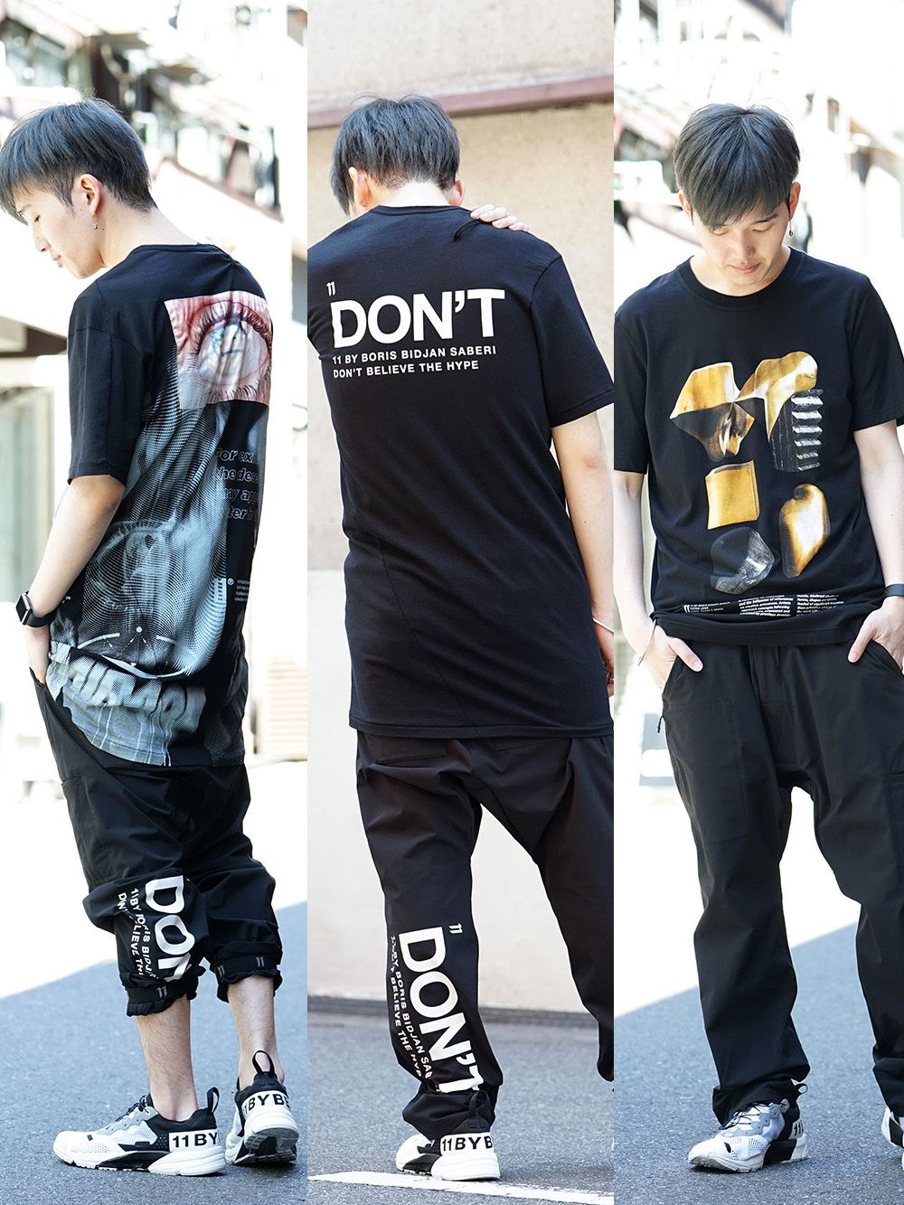 11 by Boris Bidjan Saberi 19SS Cut & Sewn Collection!! - 4-001