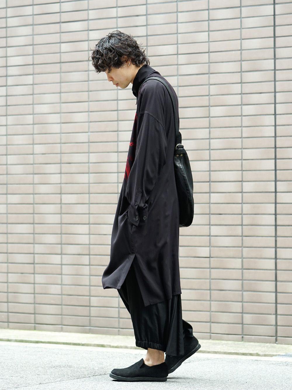 Yohji Yamamoto 19SS Red Print Blouse Style - 1-002