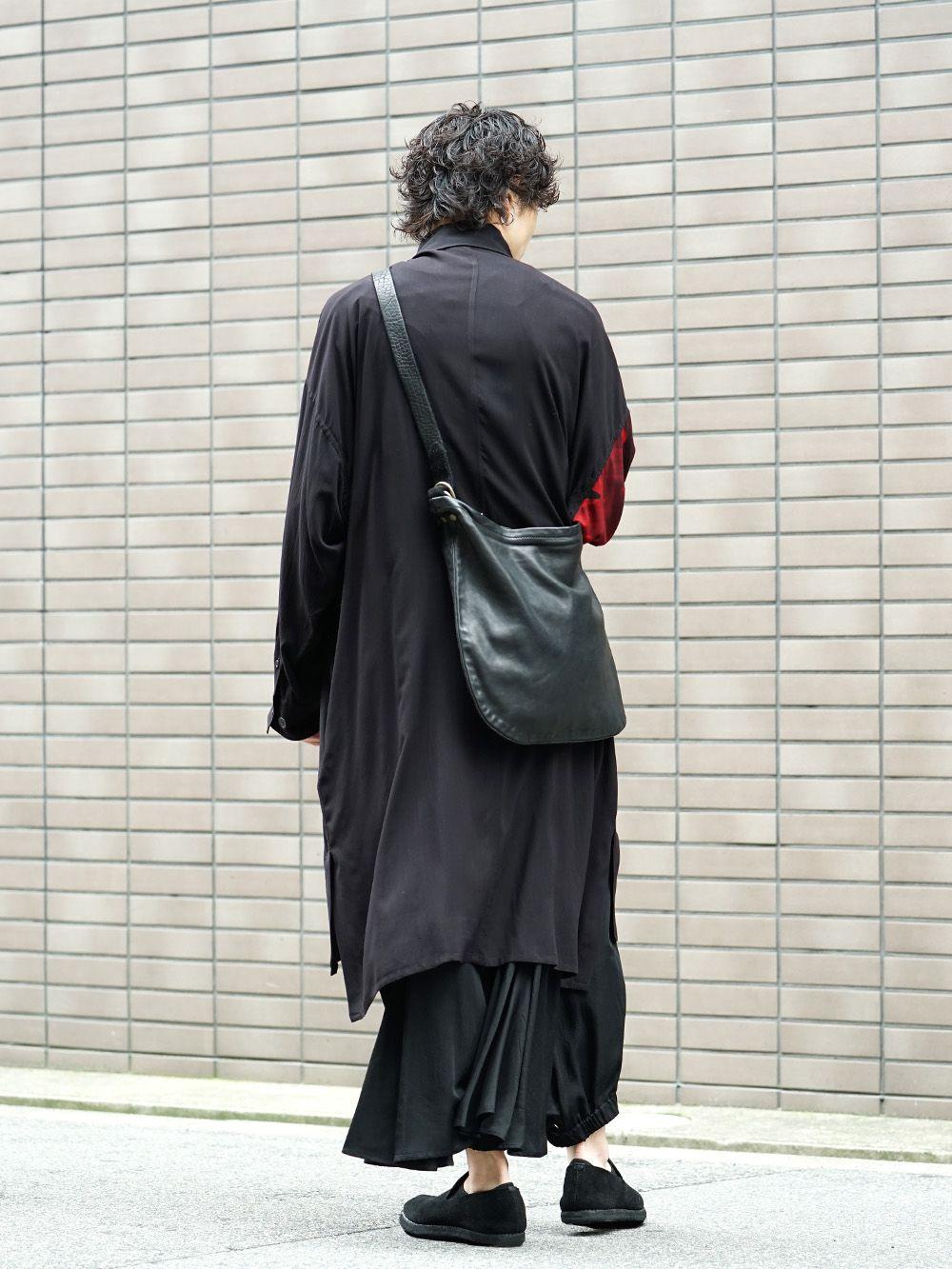 Yohji Yamamoto 19SS Red Print Blouse Style - 1-004