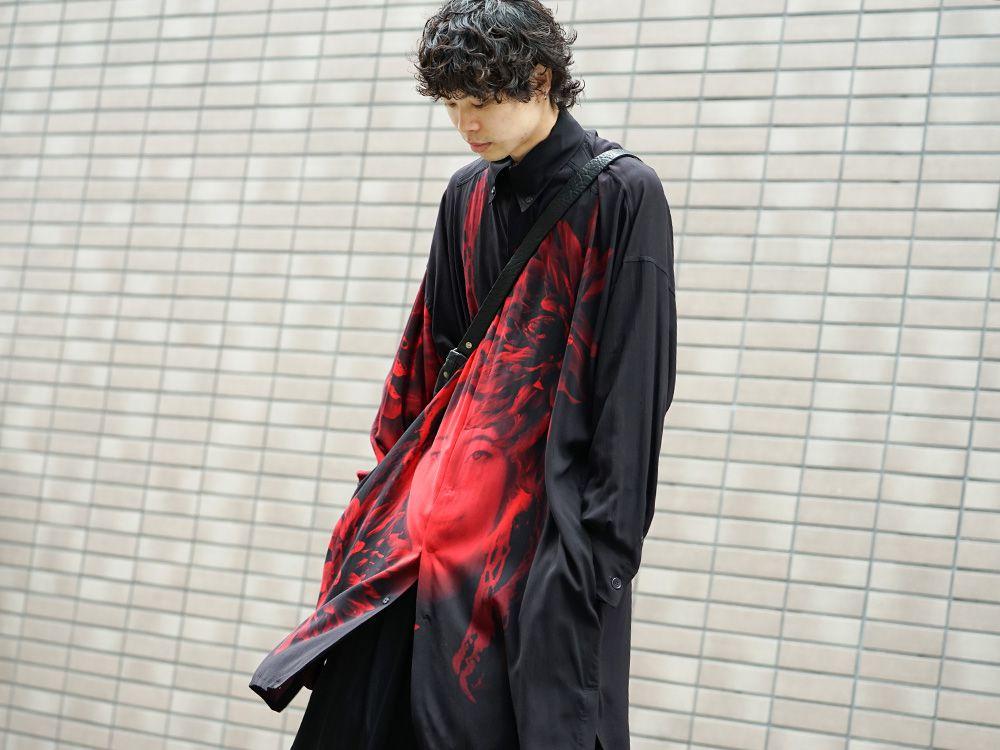 Yohji Yamamoto 19SS Red Print Blouse Style - 2-001