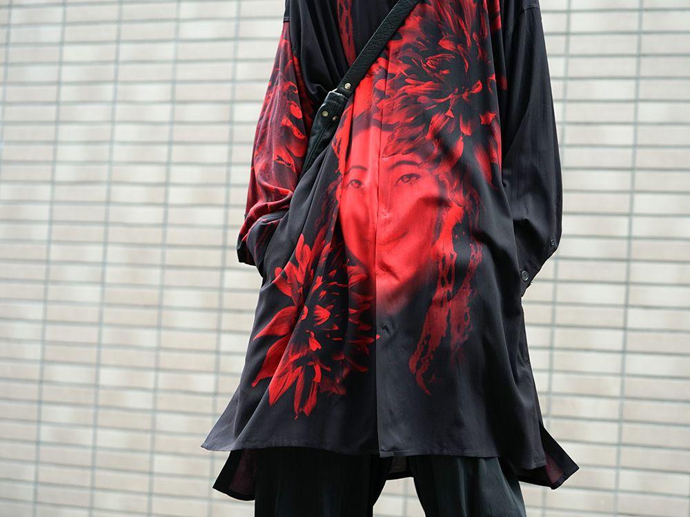 Yohji Yamamoto 19SS Red Print Blouse Style - 2-004