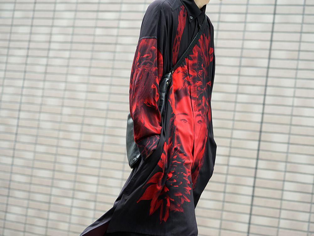 Yohji Yamamoto 19SS Red Print Blouse Style - 2-005