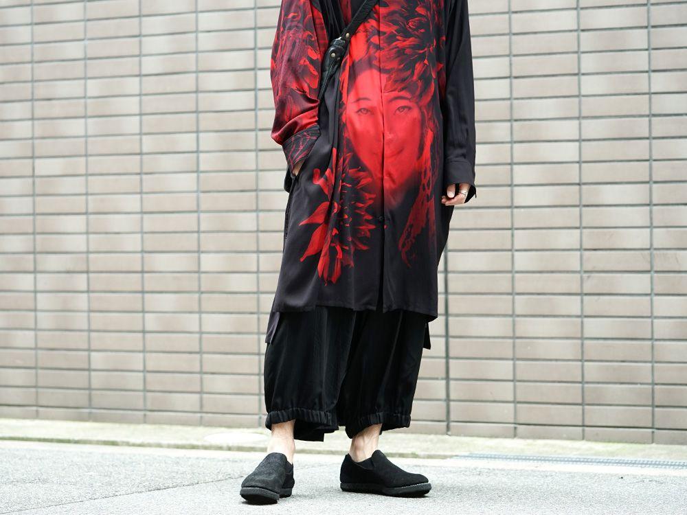 Yohji Yamamoto 19SS Red Print Blouse Style - 3-001