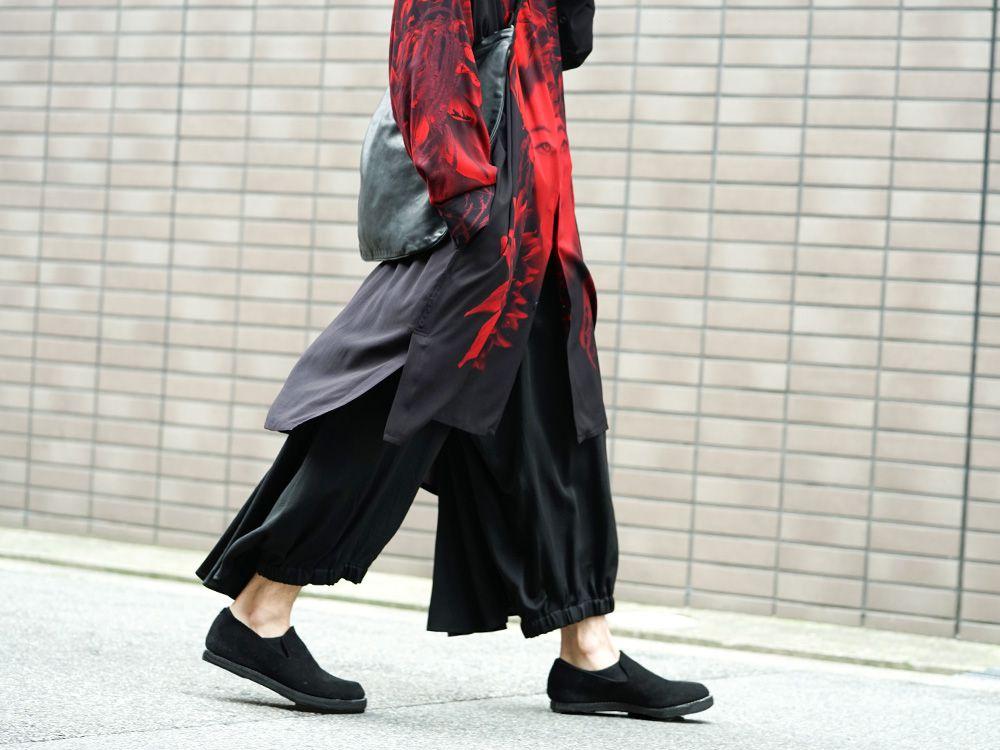 Yohji Yamamoto 19SS Red Print Blouse Style - 3-002