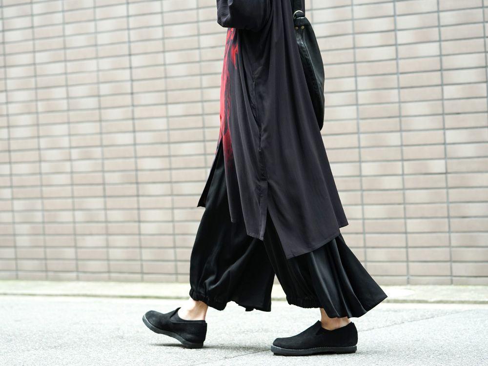 Yohji Yamamoto 19SS Red Print Blouse Style - 3-003