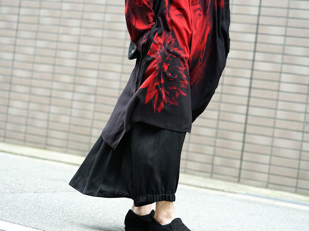 Yohji Yamamoto 19SS Red Print Blouse Style - 3-004