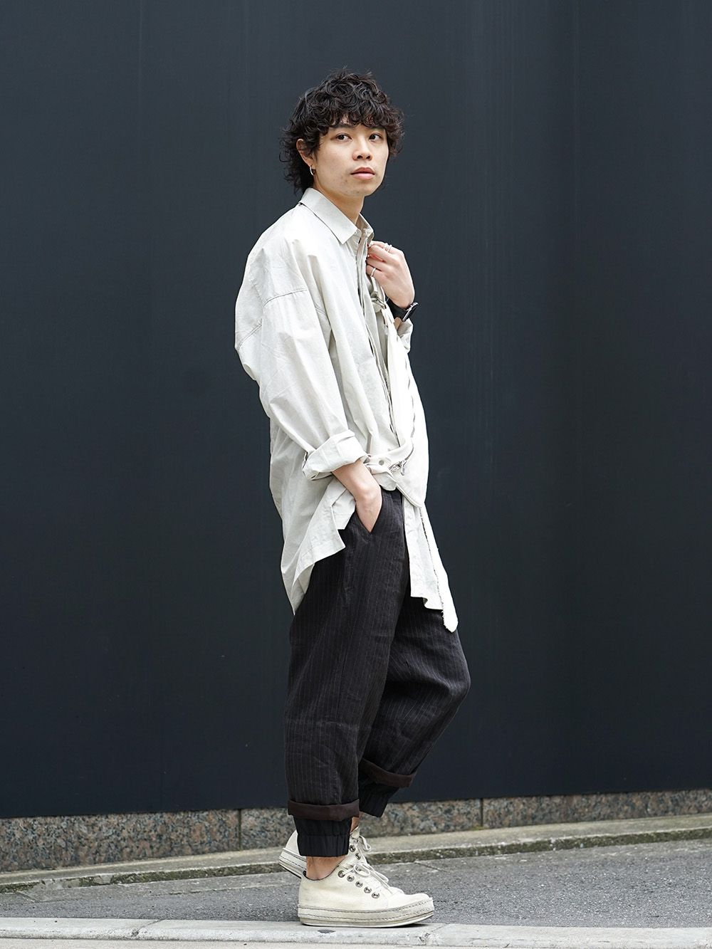 ZIGGY CHEN Relaxed Atmosphere Style - 1-002