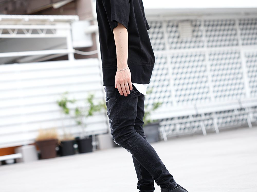 .LOGY Kyoto 19SS [ JULIUS × RIPVANWINKLE ] BLACK Styling !! - 3-006